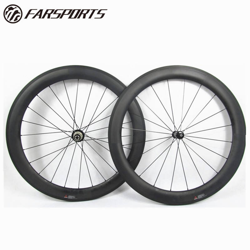 CSC 650C 38mm Clincher carbon Rear wheel only  carbon fiber bicycle racing wheel