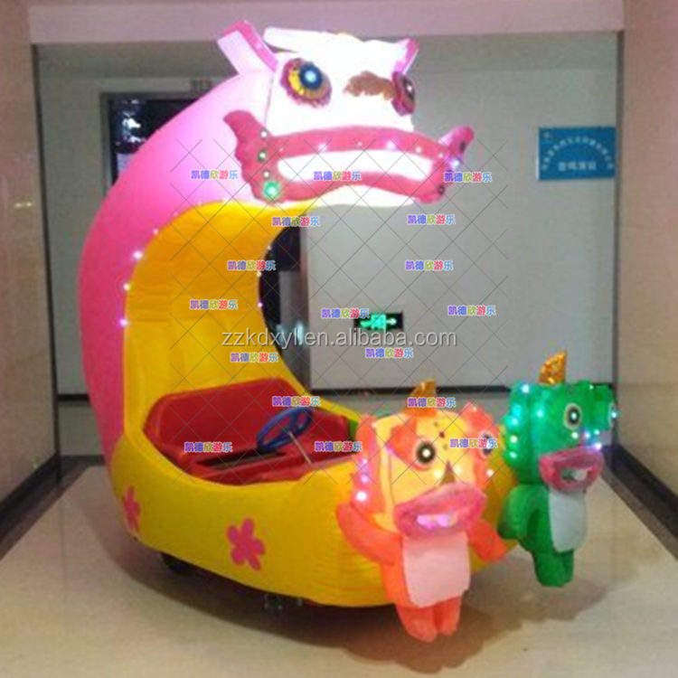Kids remote control inflatable battery car, electric kids car with good quality