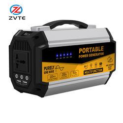 250W 250WH Backup Portable Generator Solar Power Source 250 Pure Sine Wave Power Inverter UPS Li-on Battery CPAP