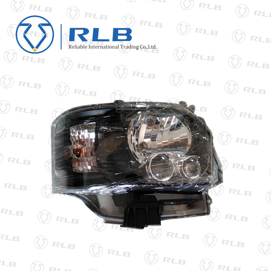 Newest black bottom HID head lamp for hiace body parts