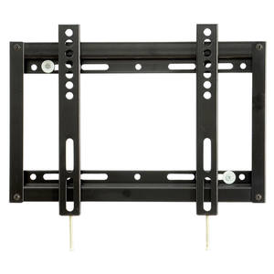 Hotel and home lcd led tv support universal fixed slim plasma tv wall bracket mount for 14