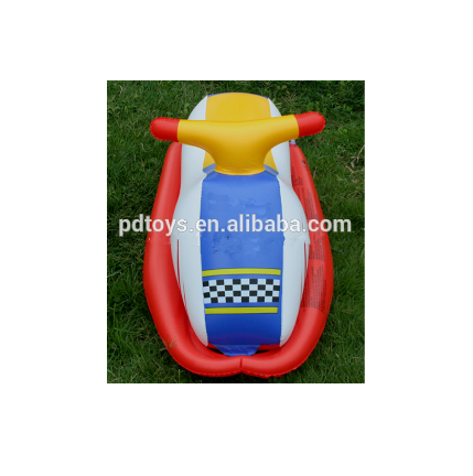 Inflatable racer rider water float for kid