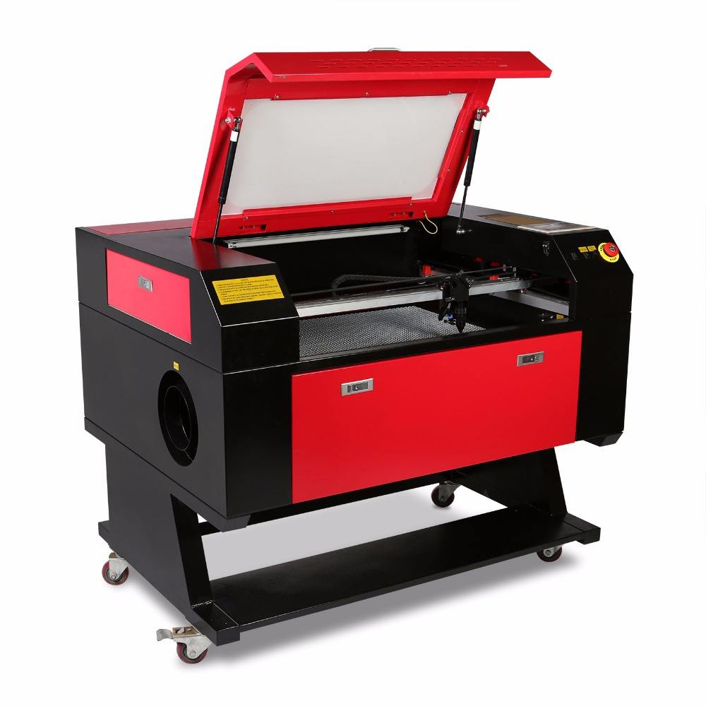 CNC Router 700*500mm 80W CO2 Laser Tube Laser Engraver/Engraving /Cutting Machine Co2 laser engraving machine