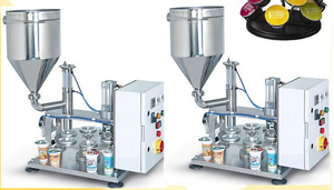 Small manual liquid filling packing machine