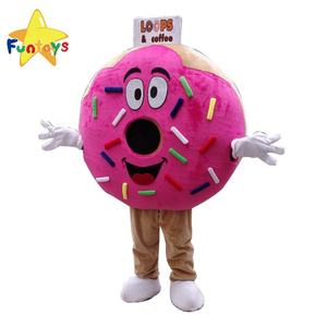 Funtoys CE Promotional Donut Mascot Costume For Shop Advertising