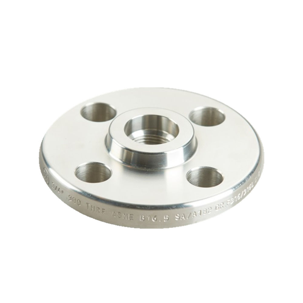 Threaded MS Flange Stainless Steel Pipe Flange