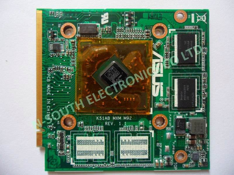 video card for ASUS K51AB X70 ATI M92 256M 216-0728014 Graphic card VGA card