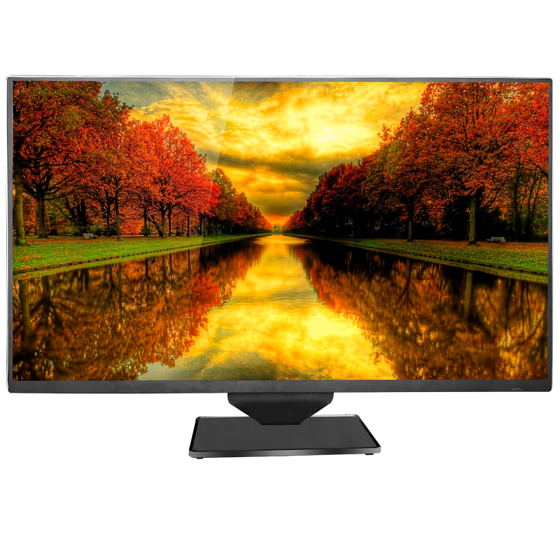 42 inch led lcd-scherm 300 nit computer 1080 p monitor met DC 12 V