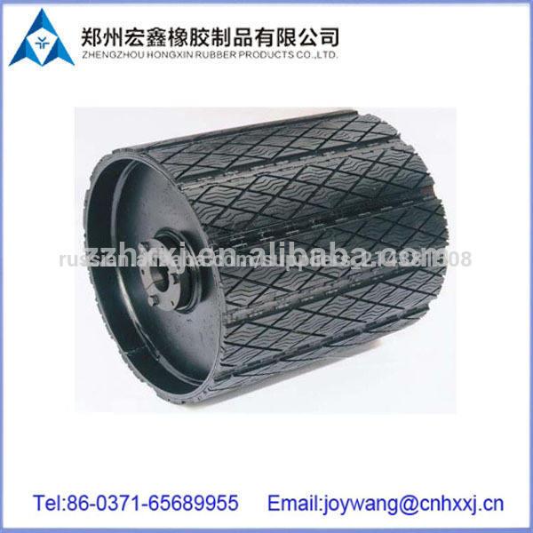 резиновый лист шкив отстающих для ленточный конвейер с антистатических особенности