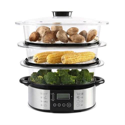 Best 3 tier electric food steamer for cooking