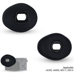 Eyecup Replaces FDA-EP10 Silicone Viewfinder Eyepieces Eye Cup For a6300 a6000 NEX-6 NEX-7