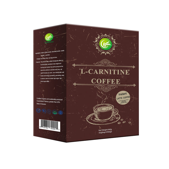 Lifeworth L-carnitine latte slimming coffee weight loss