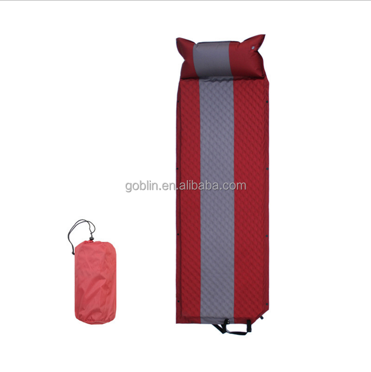 GBKHP-003 New Camping Outdoor Super Soft <span class=keywords><strong>Autogonfiante</strong></span> Ultralight Sleeping Pad, sacco a pelo