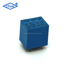 Factory 5V DC blue PCB power relay