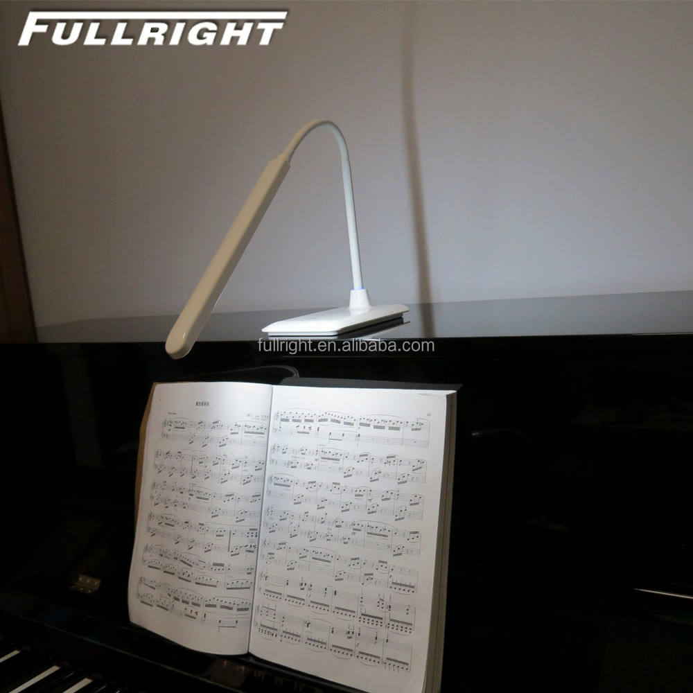piano lamps desk lamp led dimmable reading light Rechargeable wireless led reading light