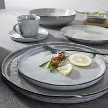 High Quality Reactive Glaze Stoneware Dinnerware Set