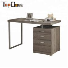 NEW STYLE BEST SELLING HOME DECOR CHEAP COMPUTER DESK WITH STEEL TUBE FRAME