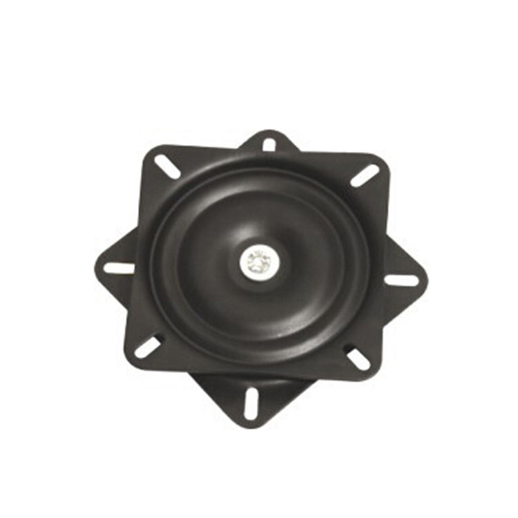 Chair swivel plate 10inch 245mm Display stand turntable hardware furniture Black turntable
