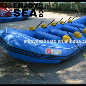 Made in China factory price inflatable rafting boat river raft 6-8 persons AR-440 for sale!!!