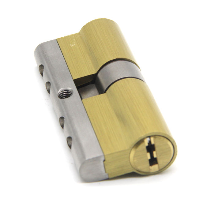 High Security Solid Brass Euro Profile Combination Door Lock Cylinder