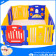 China supplier plastic baby playpen/kids plastic playpen/large playpen