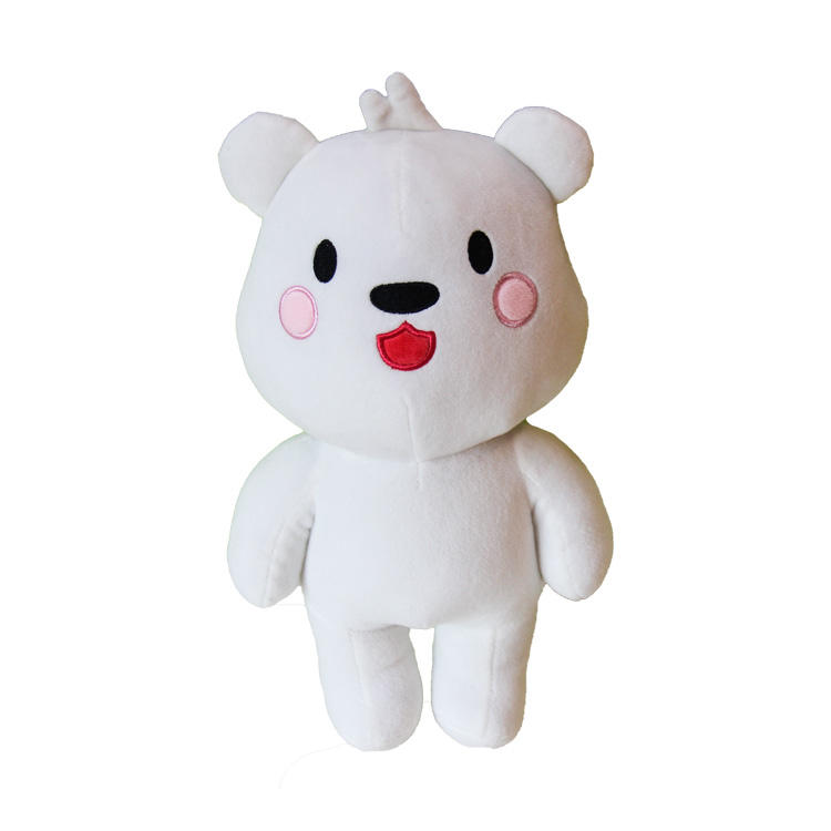 popular 12 inch dool anime plush girl loves teddy bear toy doll pattern for girls gift cosplay anima stuff