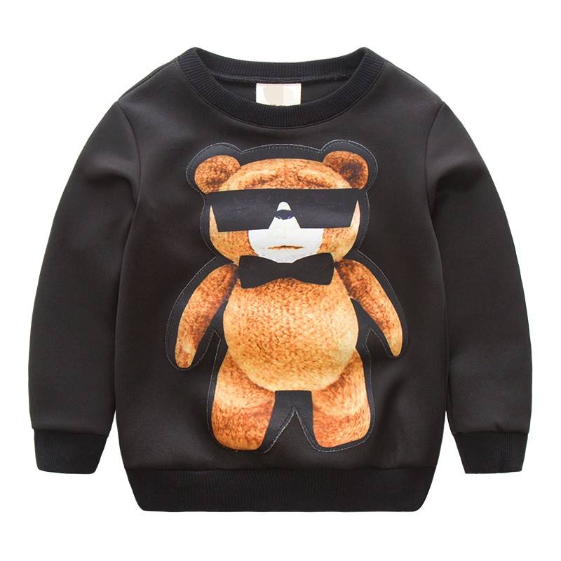 Customised Printed Child Soft Cotton Clothes Boys Sweatshirts Of Online Shopping