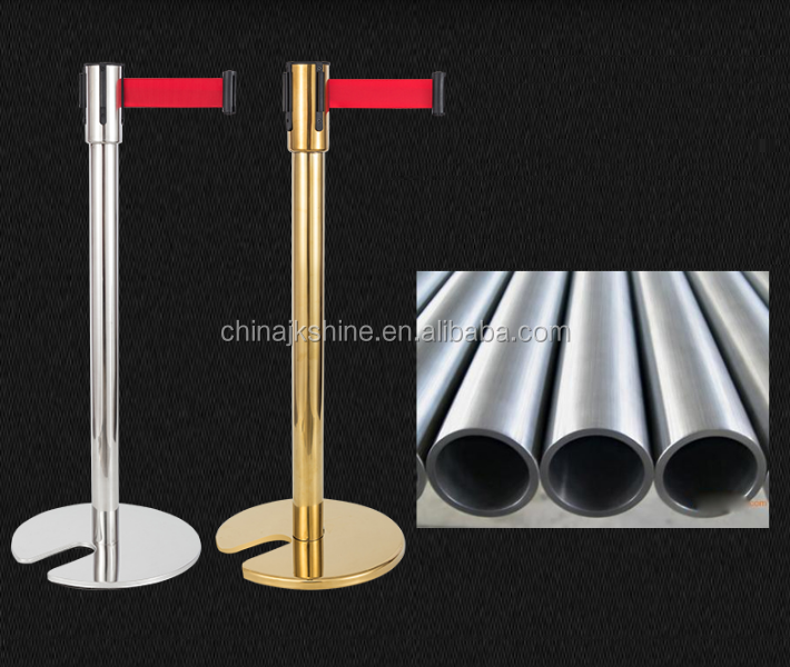 Bank/Airport Stainless Steel Queue Line Stand Queue Manager Line Barrier Stand