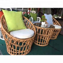 Hot Sale Patio Coffee Table And Chair Garden Outdoor Rattan furniture Sofa Set