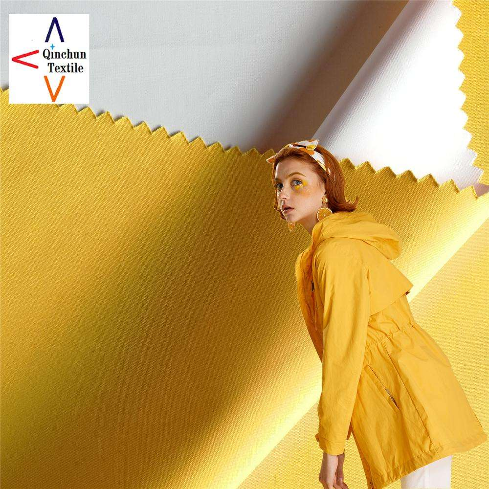 Super soft 228T polyester microporous membrane laminated taslon fabric