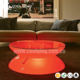 Modern customized led bar tables rechargeable RGBW lights bar furniture LED table