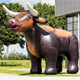 Despoke advertising inflatable ox inflatable cow for sale