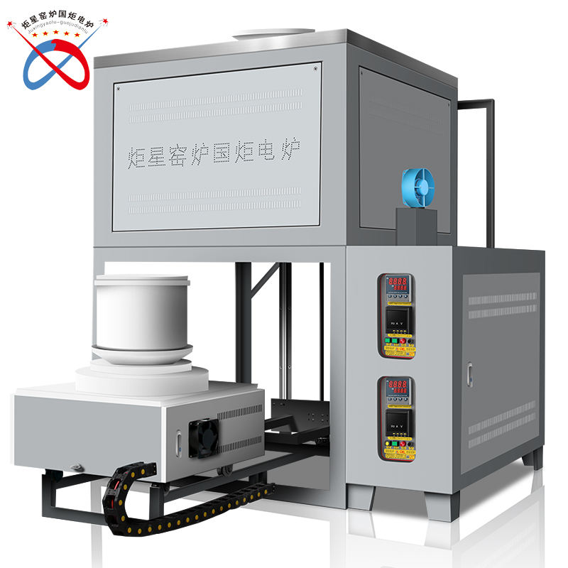 1400C Crucible Glass Melting furnace For Sale