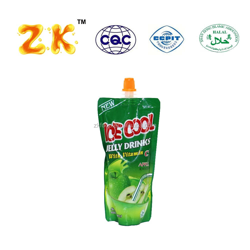 Multiple fruit flavors 12pcs/bag kid's present instant fruit flavor drink