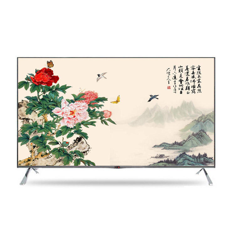 2018 New style 3D Ultra Slim 40 inch LED TV 와 wifi function