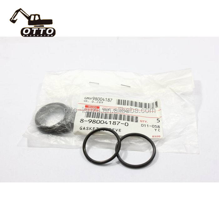 4HK1 Gasket Sleeve 8980041870 898004-1870 8-98004187-0 For Injector Assy