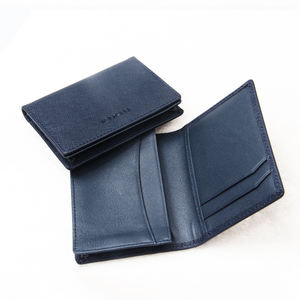 RFID Business Genuine Leather Credit Card Holder