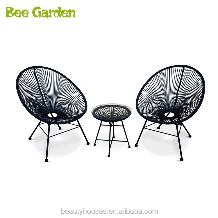 Stock 2 Piece Plastic String Chair Outdoor Acapulco Chair