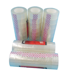Strong sticky cheap price bopp clear adhesive stationery tape