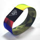 elastic fabric bracelets reusable NFC wristbands strap / Stretch Woven RFID Wristband