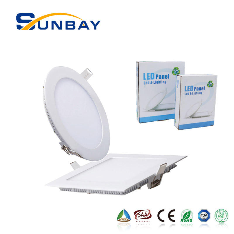 Nano LGP light guide plate slim led panel light 6000k 5w 7w 8w 10w 25w 30w ISO9001pf0.95