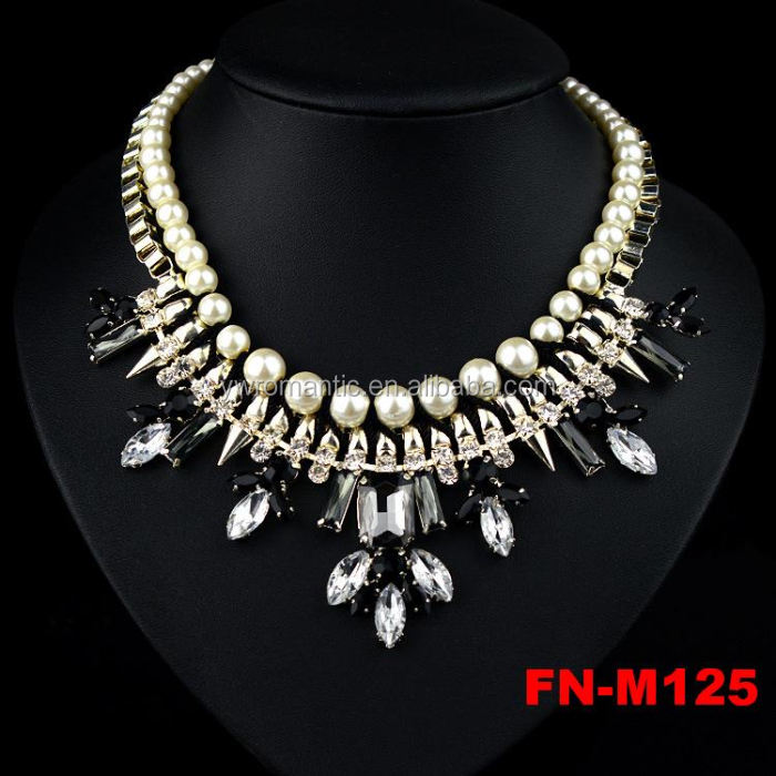 New stocks popular pearl necklace hyderabad