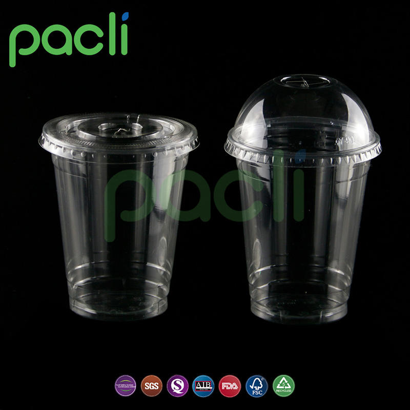 Custom printing disposable plastic cup for juice