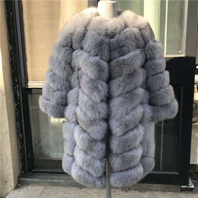 Lantian fur factory fox fur coat for women