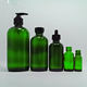 1oz 2oz 4oz 8oz 16oz 32oz green glass boston round glass bottle