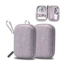 personalized waterproof wireless earbuds travel box storage eva pouch holder earphone carrying case