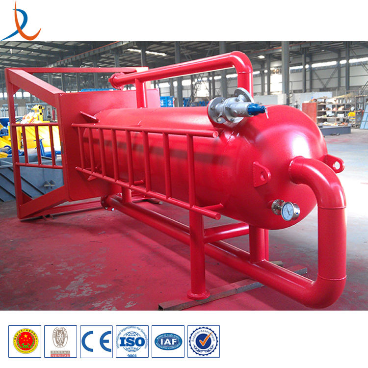 H2S mud liquid gas separator / gas Buster for oil or gas drilling