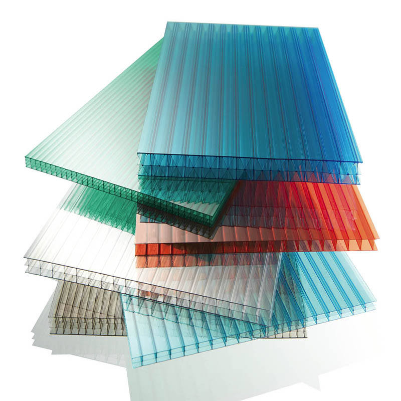100% bayer material polycarbonate hollow sheet / poly carbonate sheet most favorable factory price