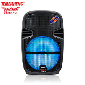 Temeisheng 12 인치 super bass 휴대용 스피커 F22M best core magic boost (high) 저 (힘 pa system