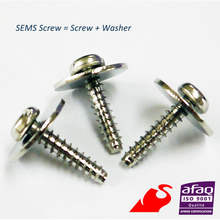 SEMS Screws (screw washer combination) - Taiwan - High quality, good price